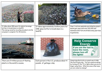 Earth Day Environment 30 Facts Cards
