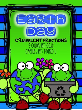 Earth Day Equivalent Fractions