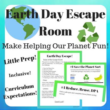 Earth Day Escape Room