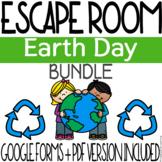 Earth Day Escape Room Activity - BUNDLE