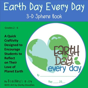 Earth Day, Every Day | A Reflective Thinking Craftivity