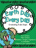 Earth Day Every Day {ELA & Math Centers Plus 3 Craftivities for CCSS}