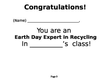 Earth Day Experts
