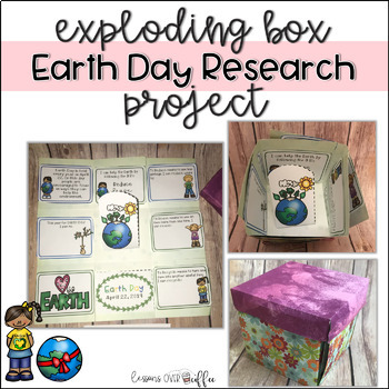 Earth Day Research Project - Exploding Box Project