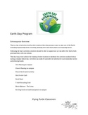 Earth Day Extravaganza- School wide
