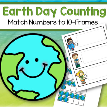 Earth Day 10-Frames Hands On Counting Center