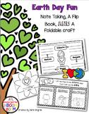 Earth Day Flipbook and Activities #kinderfriends