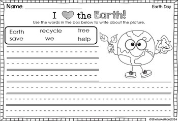 Earth Day FREEBIE {Print and go printables, templates, Earth Day acrostic poem}