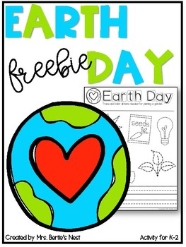 Earth Day FREEBIE for K-2