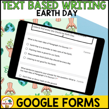 Earth Day FSA Writing - April Passages, Writing Prompts, and Rubric