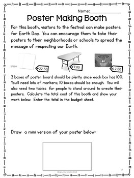 Earth Day Festival Project Based Learning