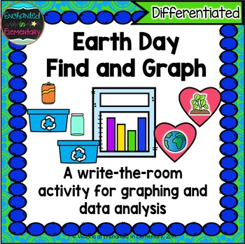 Earth Day Find and Graph: A Differentiated Math Center