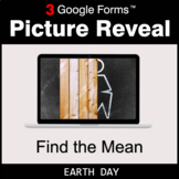 Earth Day: Find the Mean - Google Forms Math Game | Distan