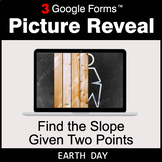 Earth Day: Find the Slope Given Two Points - Google Forms