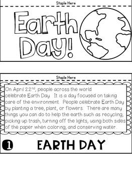Earth Day Flip Book (NO PREP)