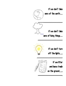 Earth Day Flip Chart