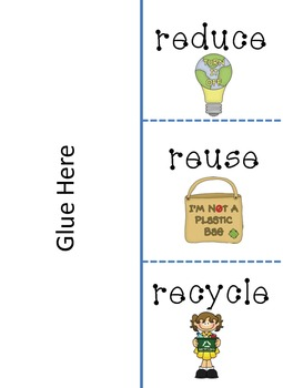 Earth Day Flipbook - Reduce, Reuse, Recycle