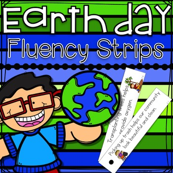 Earth Day Fluency Strips
