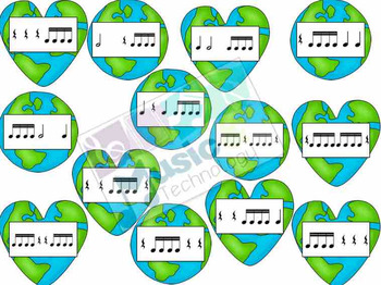 Earth Day Rhythm Fly Swatter Game
