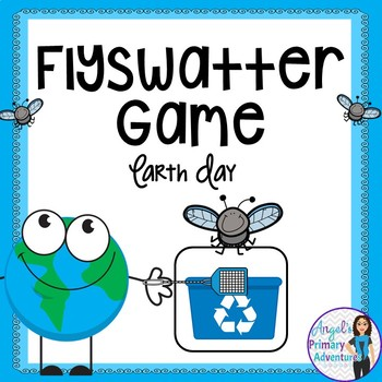 Earth Day Flyswatter Vocabulary Game