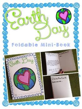 Earth Day Foldable Mini-Book