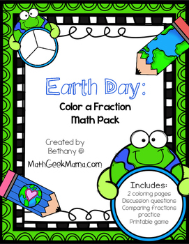 Earth Day Fraction Practice