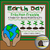 Earth Day Fraction Task Cards by Nita Marie
