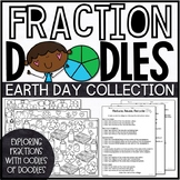 Earth Day Fractions Activities | Earth Day Color by Number