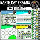 Earth Day Frames Big Bundle {Educlips Clipart}