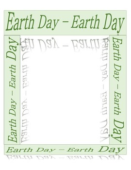 Earth Day:  Frames/Borders