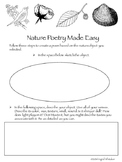 Poetry : Nature Poetry Writing