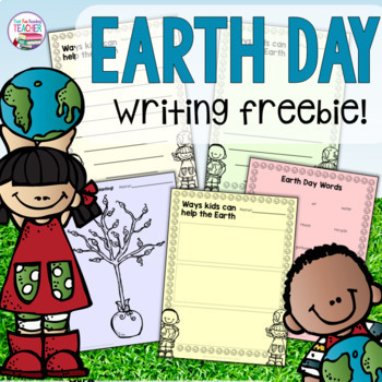 Earth Day Free Printable for Primary Students