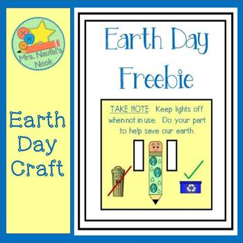 Earth Day Freebie - Craftivity