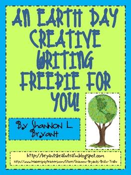 Earth Day Freebie:  Creative Writing for You!
