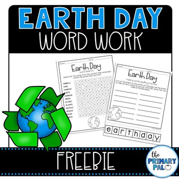Earth Day Freebie: Word Search and Spelling