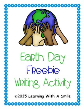 Earth Day ~ Freebie ~ Writing Activity