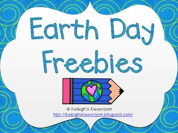 Earth Day Freebies!