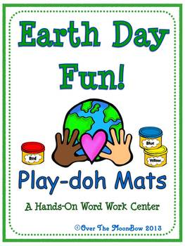 Earth Day Fun Playdoh Activity Pack