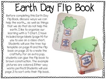Earth Day Fun {writing craftivity & flip book}