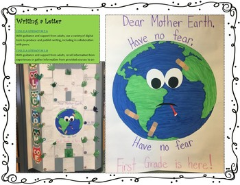 Earth Day GLAD Supplements, BIG Book, Learning Log, Journal, Activities