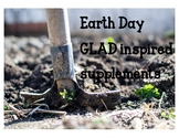 Earth Day GLAD Supplements, BIG Book, Learning Log, Journa