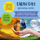 Earth Day Gallery Walk with QR Codes