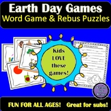 Earth Day Games | Rebus Puzzles and Mad Libs
