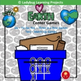 Earth Day Games  Tic-Tac-Toe and Memory Match Cards