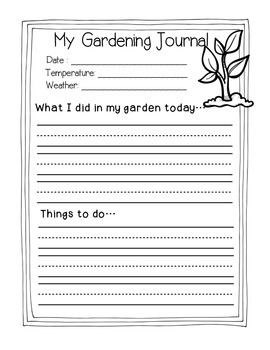 Earth Day {Gardening Journal, Math, Literacy Centers & More}