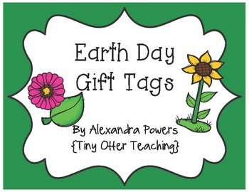 Earth Day Gift Tags
