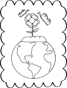 Earth Day Glyph, Graph & Writing Activities