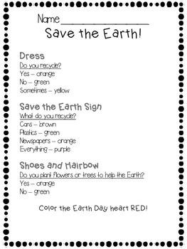 Earth Day Glyphs