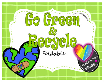 "Earth Day: ""Go Green & Recycle"""