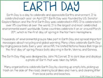 Earth Day Google Drive Digital Interactive Activity Pack (Editable)